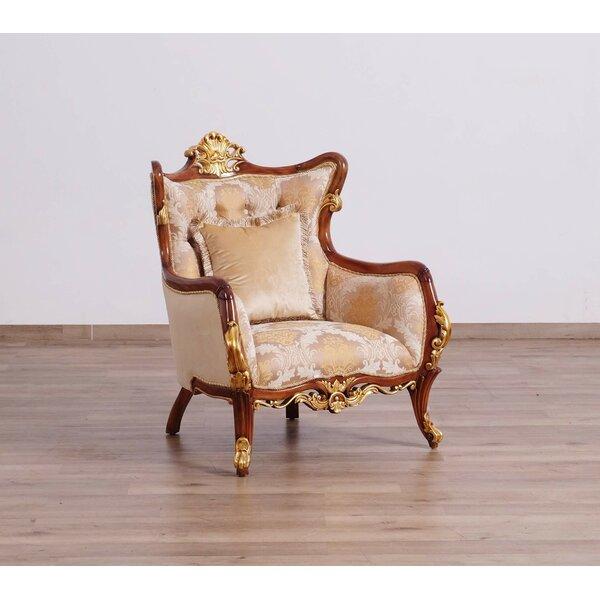 Pisani II Armchair by Astoria Grand