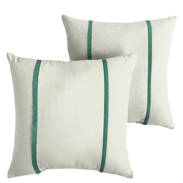 Holliman Indoor/Outdoor Sunbrella Throw Pillow (Set of 2) by Alcott Hill