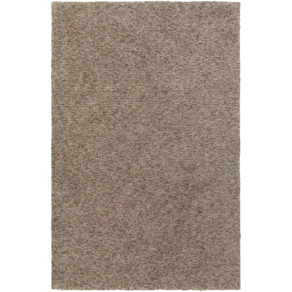 Daub Brown Area Rug by Breakwater Bay