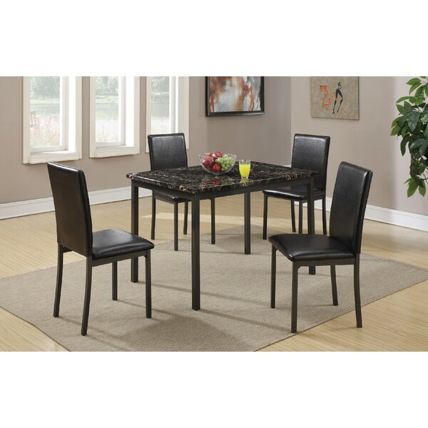 Canyon 5 Piece Dining Set by Latitude Run