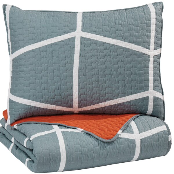 Uma Reversible Quilt Set by Langley Street