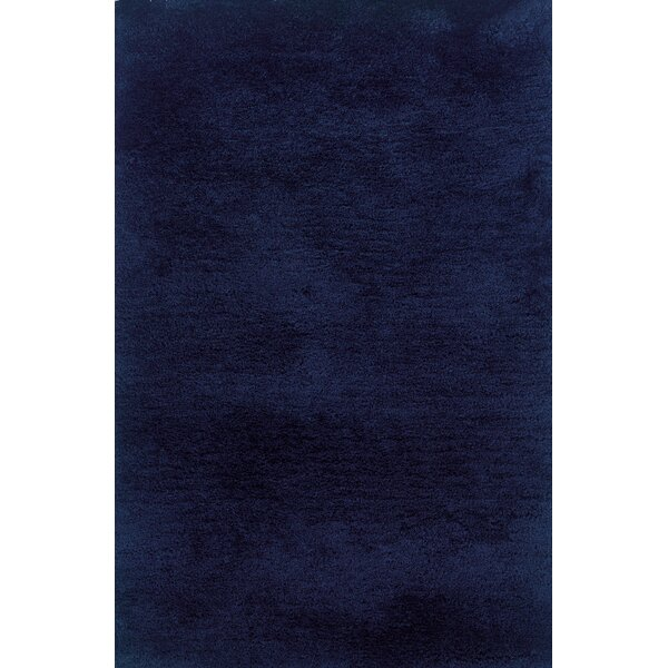 Albritton Hand-made Blue Area Rug by Latitude Run