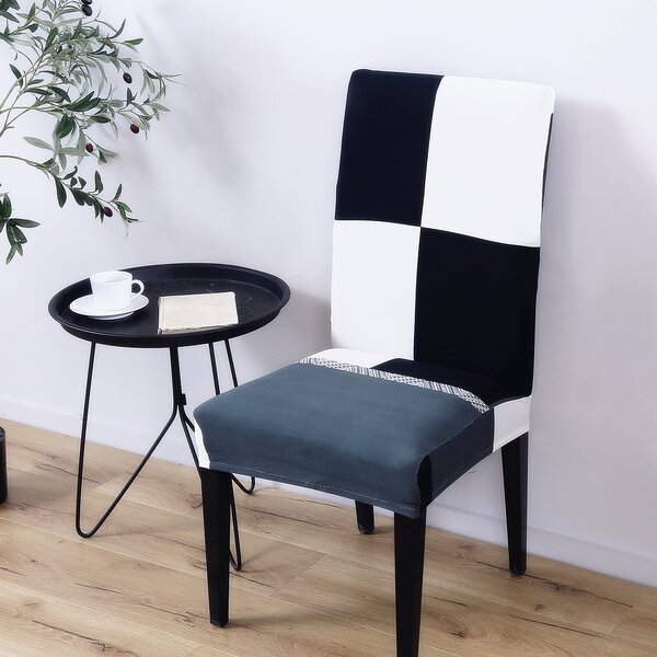 Elegant Polyester and Spandex Dining Chair Slipcover by Ebern Designs