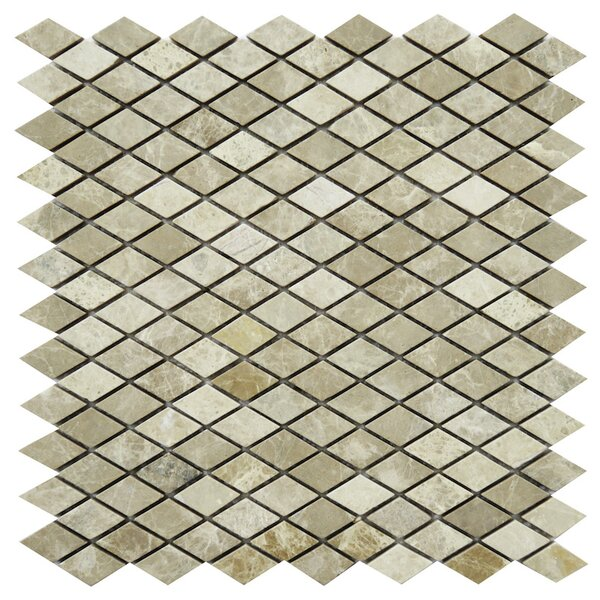 Fiuggi Marble Mosaic Tile in Beige by NovoTileStudio