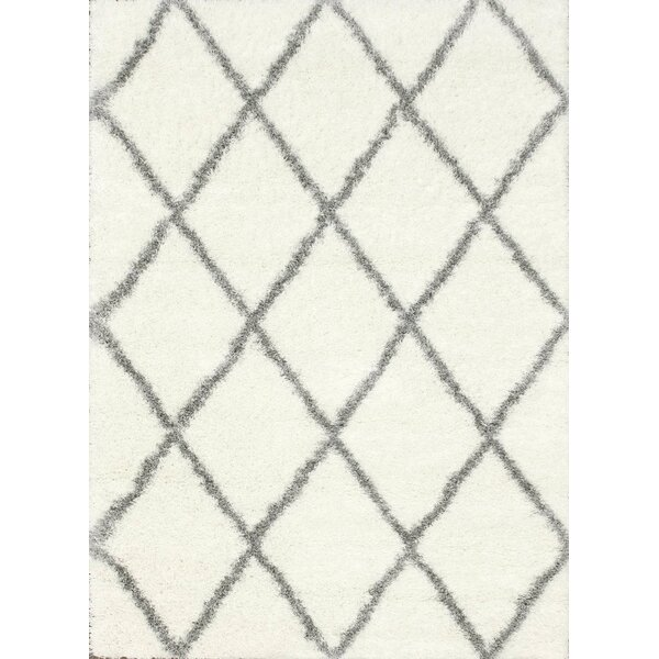 Bronson Off-White Area Rug by Mercury Row