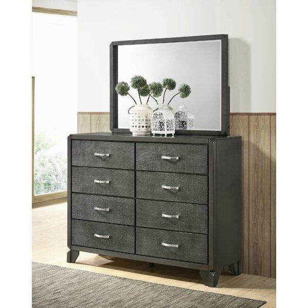 Nicholson 8 Drawer Double Dresser with Mirror by Brayden Studio