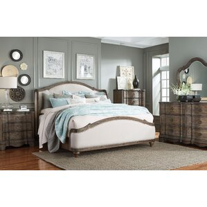 Exceptional Michiel Upholstered Configurable Bedroom Set