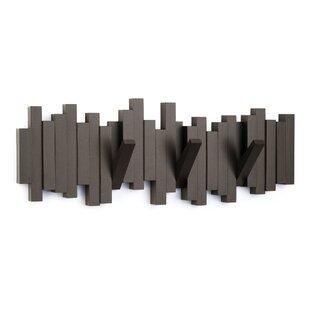 wall mounted coat racks wall hangers you 39 ll love wayfair. Black Bedroom Furniture Sets. Home Design Ideas
