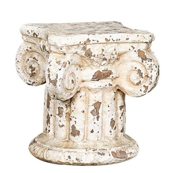 Kloss Terracotta Column Pedestal by Ophelia & Co.