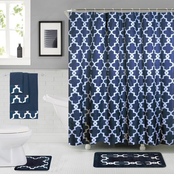 Eno Shower Curtain Set by Darby Home Co