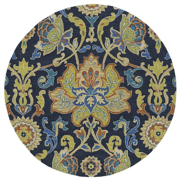 Barkell Blue/Green Area Rug by Astoria Grand