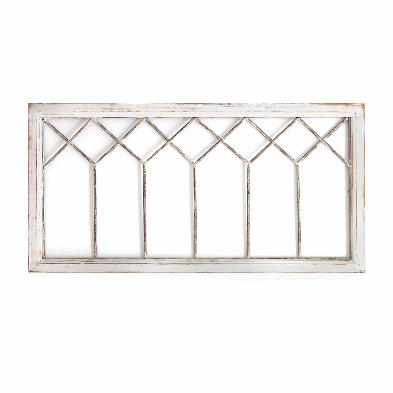 Gracie Oaks Distressed Window Panel