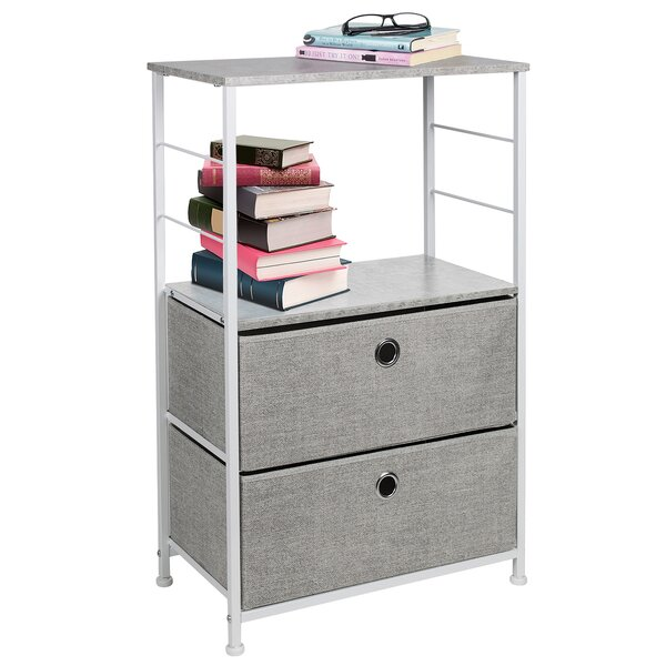 Rindge 2 Drawer Nightstand by Latitude Run Latitude Run