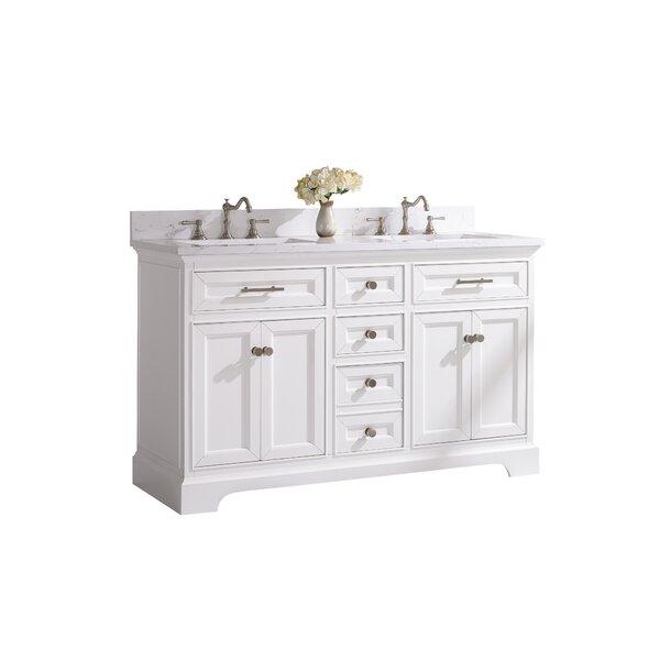 Hallmar 54 Double Bathroom Vanity Set