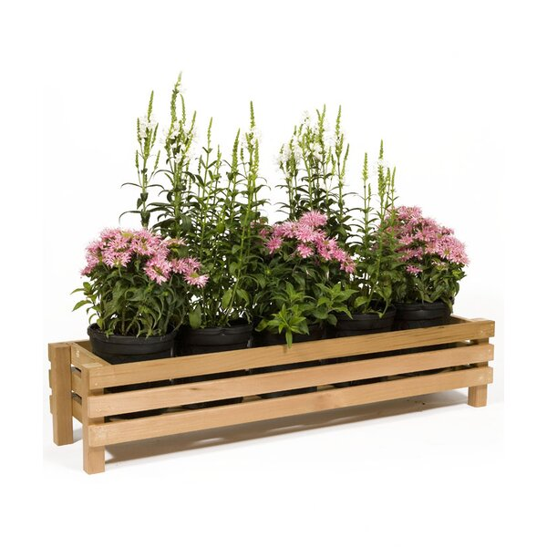 Wood Planter Box by Baltic Leisure