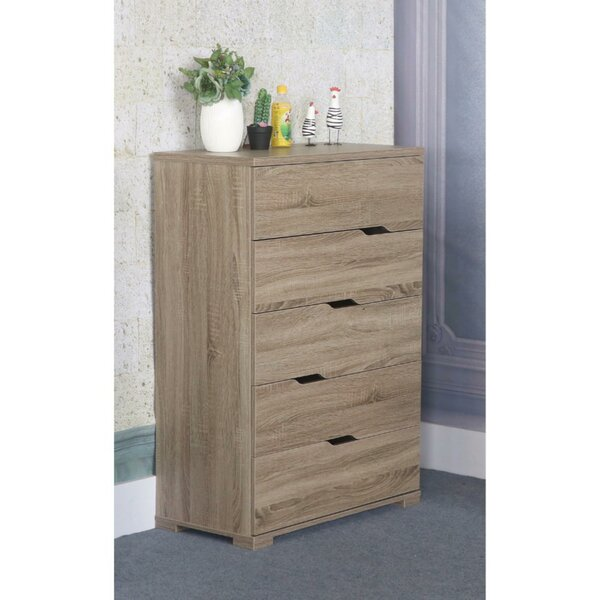 Andrade Grandiose 5 Drawer Chest by Trule Teen