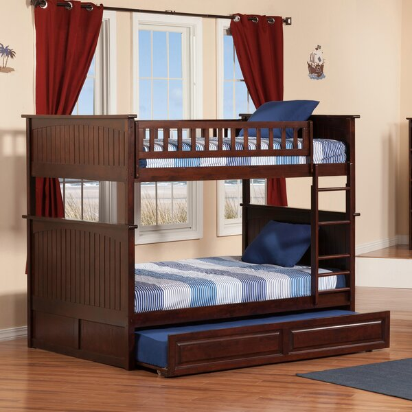 Maryellen Bunk Bed with Trundle by Viv + Rae