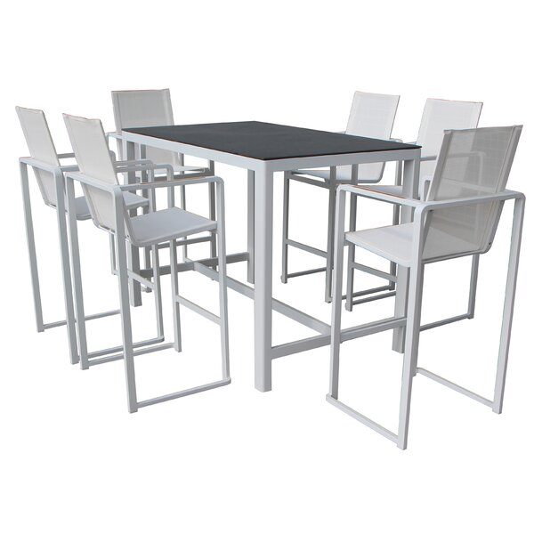 Bolton 7 Piece Dining Set by Wade Logan