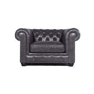 Tanisha Chesterfield Chair  by Darby Home Co