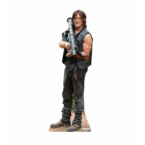 The Walking Dead Daryl Dixon 02 Cardboard Stand-Up by Advanced Graphics