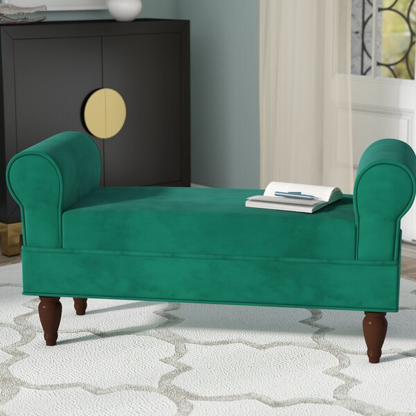 Shar Upholstered Bench by Willa Arlo Interiors