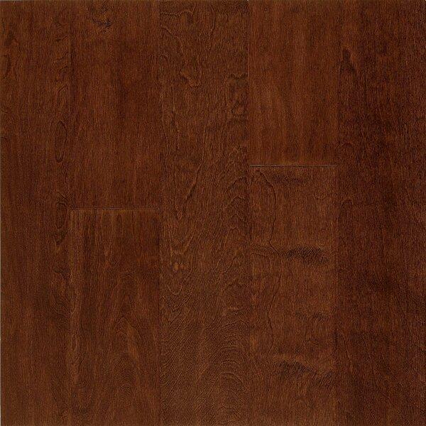Frontier 5 Engineered Birch Hardwood Flooring in Metro Brick by Armstrong Flooring