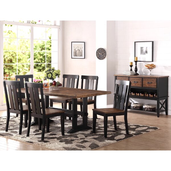 Pamela 7 Piece Dining Set by Rosalind Wheeler Rosalind Wheeler