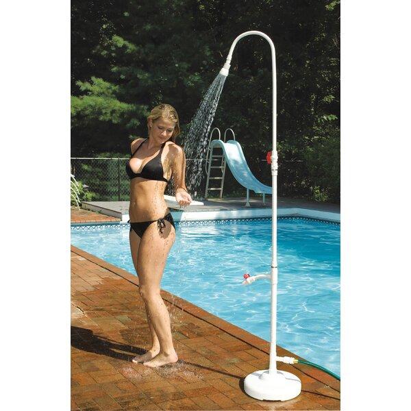 PVC Freestanding Outdoor Shower by Swimline