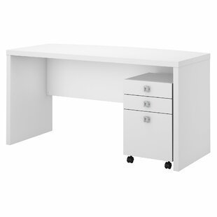 Check Prices Echo 2 Piece Desk Office Suite ByKathy Ireland Office by Bush