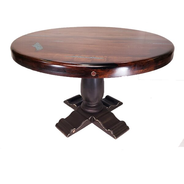 Damiano Solid Wood Dining Table by Bloomsbury Market