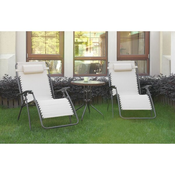 Steinmann 3 Piece Conversation Set by Ebern Designs