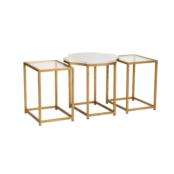 Medallion 3 Piece Nesting Tables by Wildwood