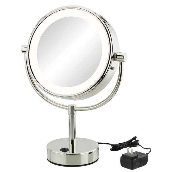 Yadhu Modern Makeup/Shaving Mirror by Orren Ellis