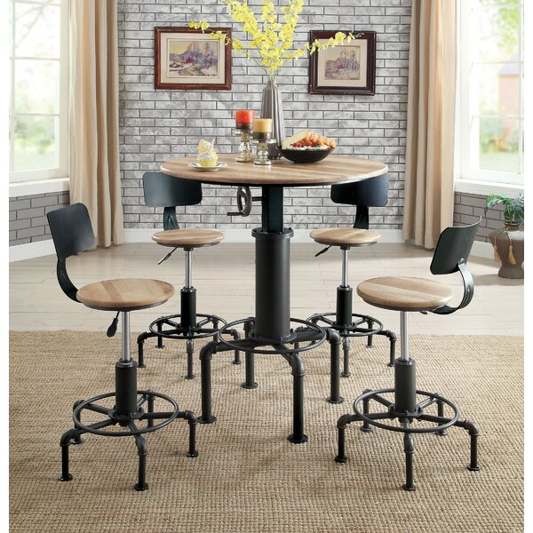 Fresh Goldie Adjustable Pub Dining Table By 17 Stories Cool