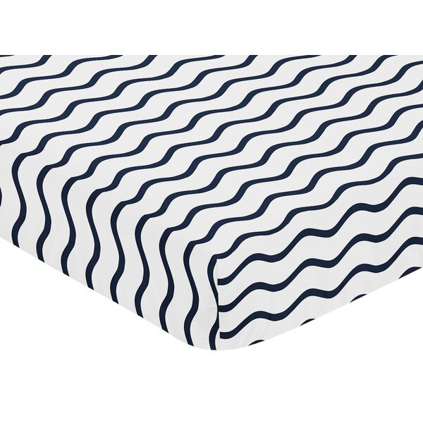 Whale Fitted Crib Sheet by Sweet Jojo Designs