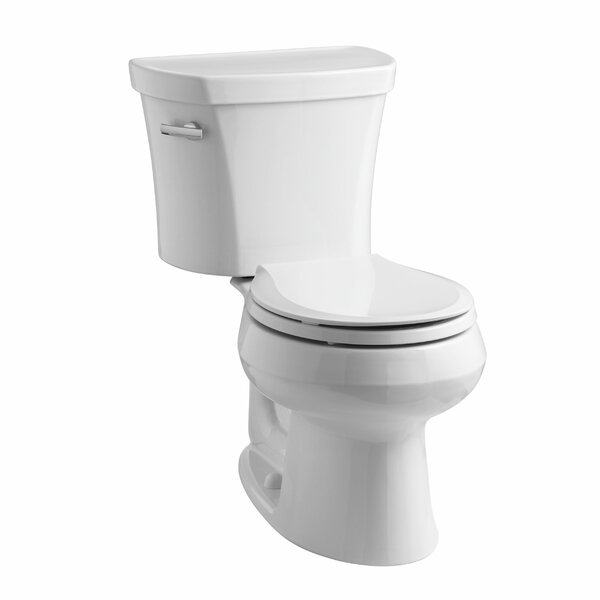 Wellworth 1.28 GPF Round Two-Piece Toilet by Kohler