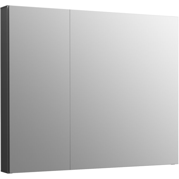 Maxstow 30 X 24 Surface Mount Frameless Medicine Cabinet with 3 Fixed Shelves