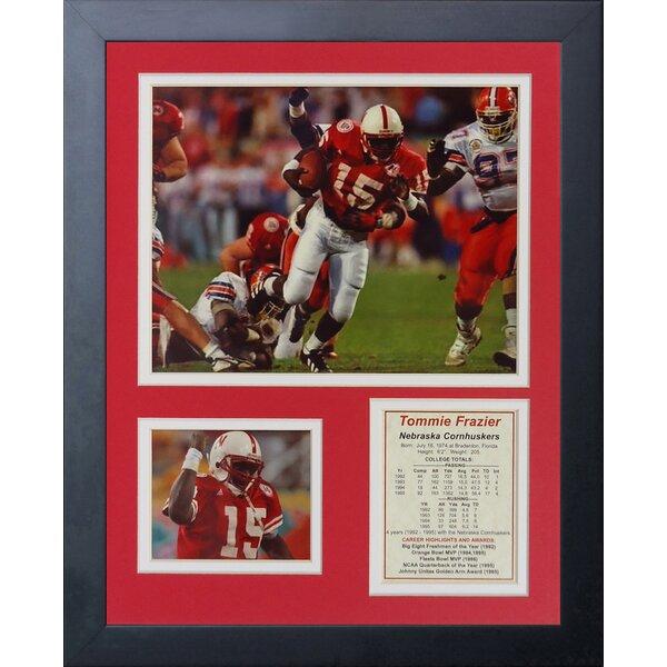 Tommie Frazier Framed Memorabilia by Legends Never Die