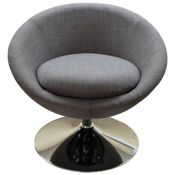Swivel Papasan Chair by Wade Logan