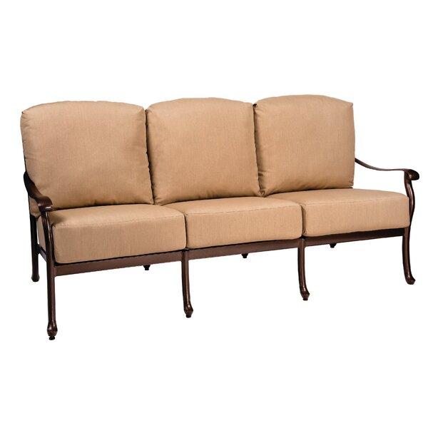 Casa Patio Sofa with Cushions by Woodard