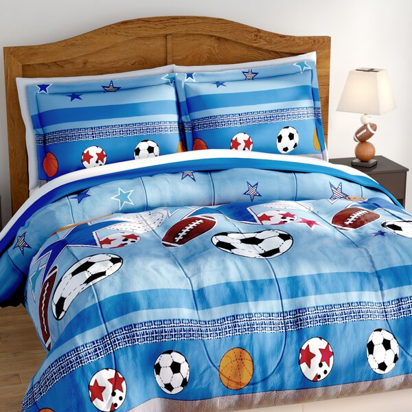 Jed Comforter Set by Zoomie Kids