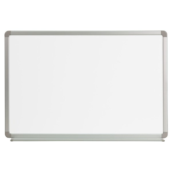 Magnetic Wall Mounted Whiteboard by Offex