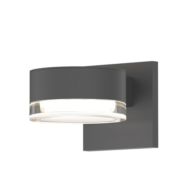 Algarin 2-Light LED Outdoor Armed Sconce by Latitude Run
