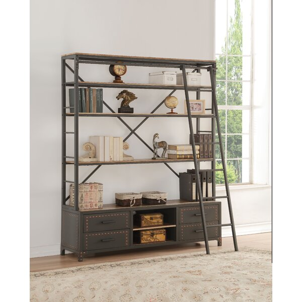 Mcfarland Step Bookcase by 17 Stories