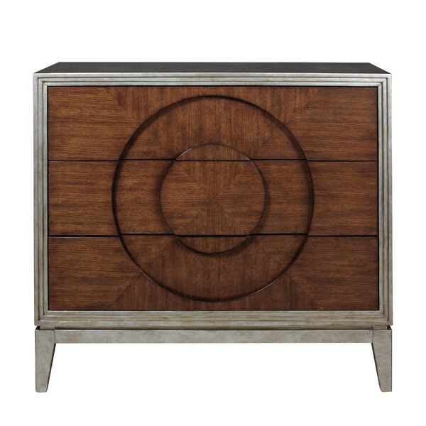 Record Year 3 Drawer Accent Chest by Highway To Home