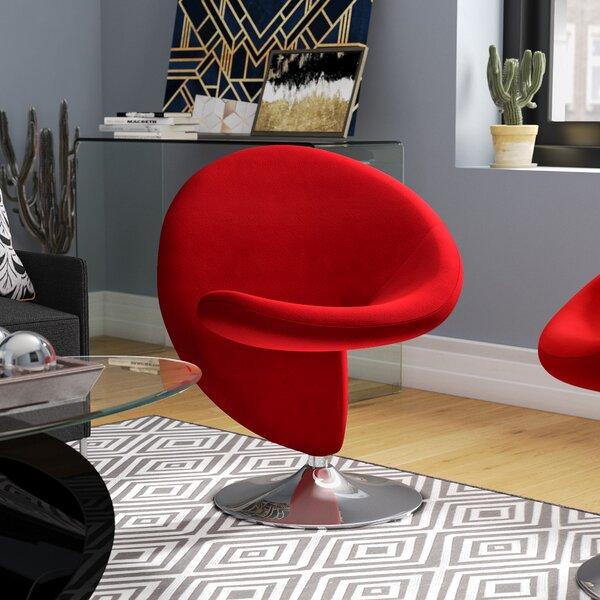 Herkimer Swivel Lounge Chair by Orren Ellis