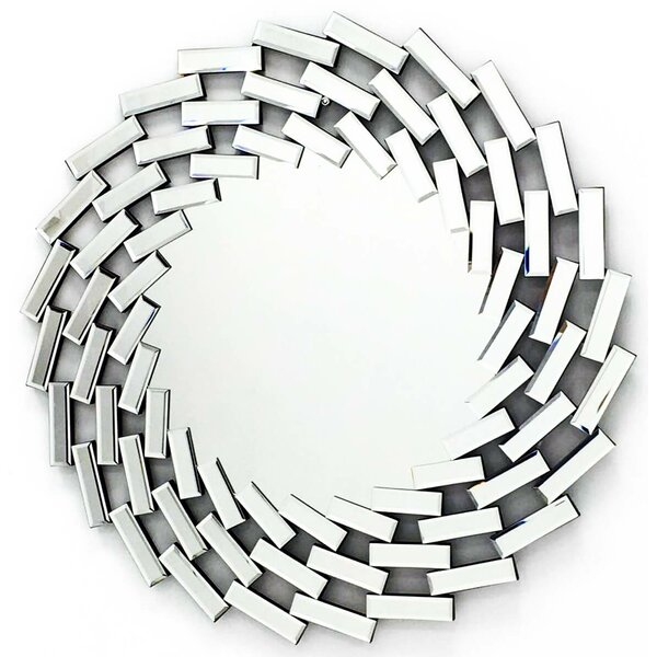 La Soufflerie Stylish Accent Mirror by Fab Glass and Mirror