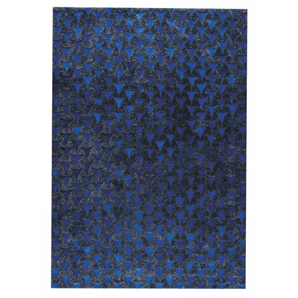 Adhara Hand woven Blue Area Rug by M.A. Trading