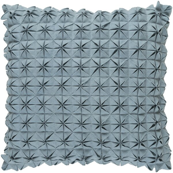 Wool Throw Pillow by Mercury Row