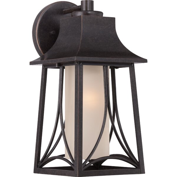 Stoutsville 1-Light Outdoor Wall Lantern by Darby Home Co